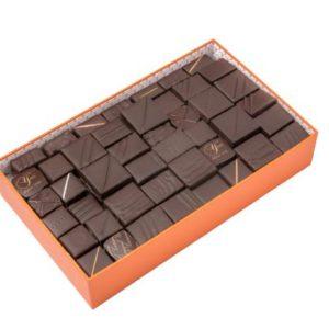 ballotin 1kg de chocolats noirs YVER