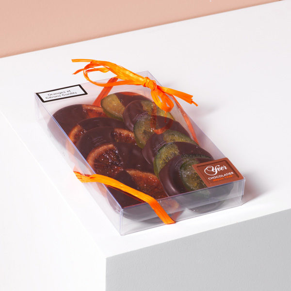 Chocolats à l'orange