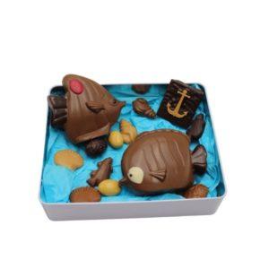 coffret poissons chocolat Yver