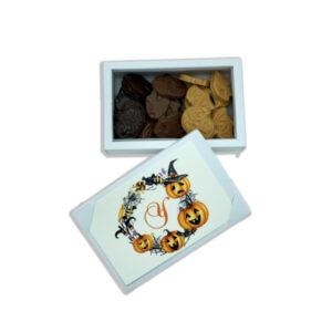 BOITE CHOCOLAT FRITURE HALLOWEEN