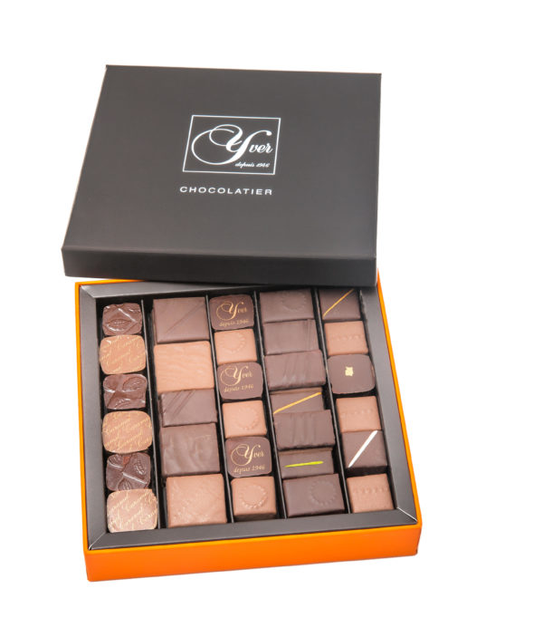 Coffret chocolat prestige YVER TAILLE 2